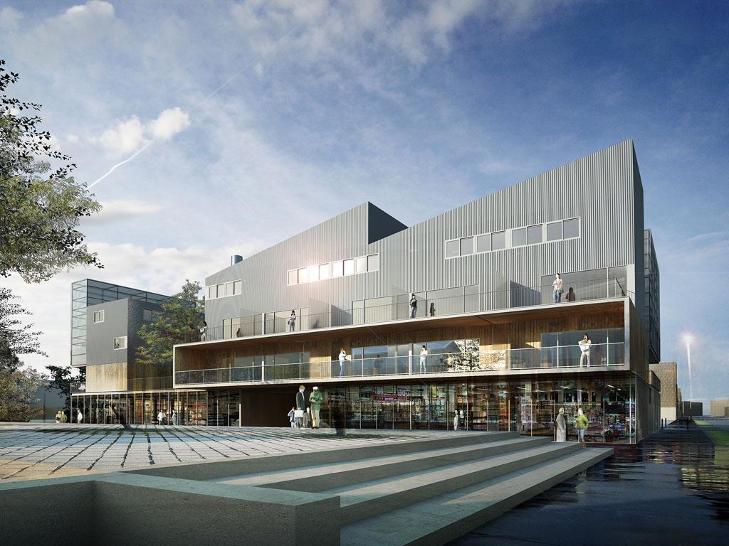 architecte brive la gaillarde cit scolaire cabanis ForArchitecte Brive La Gaillarde